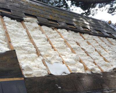 Retro Fit Roof Insulation